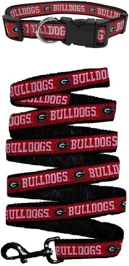 NCAA Georgia Bulldogs Reflective Dog Leash