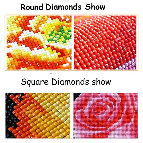 CRPSEN Diamond Painting Accessory Wholesale Square Rhinestone Resin Diamonds 447 Colors/Bag can Choose Color Accessory Blank Canvas, Sales for 1 Bag=200 Pieces (447 Bag)]()
