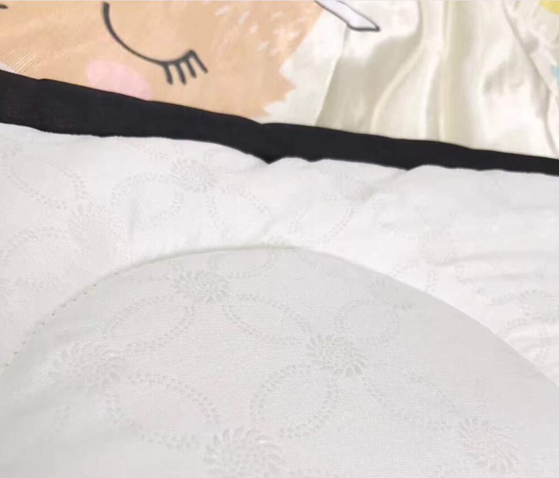 QXMEI Children Crawling Mats Cotton Ice Silk Simple Cartoon Carpet Game Pad by QXMEI (Image #3)