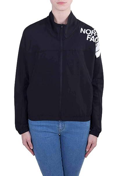 The North Face sudadera mujer zip T93UWAJK3 W TRAIN N LOGO JKT-E XS Nero