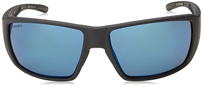 f41fd567c9832 Amazon.com  New SMITH Sunglasses Unisex Guides Choice Black DL5QG Guides  Choice S 62mm  Sports   Outdoors