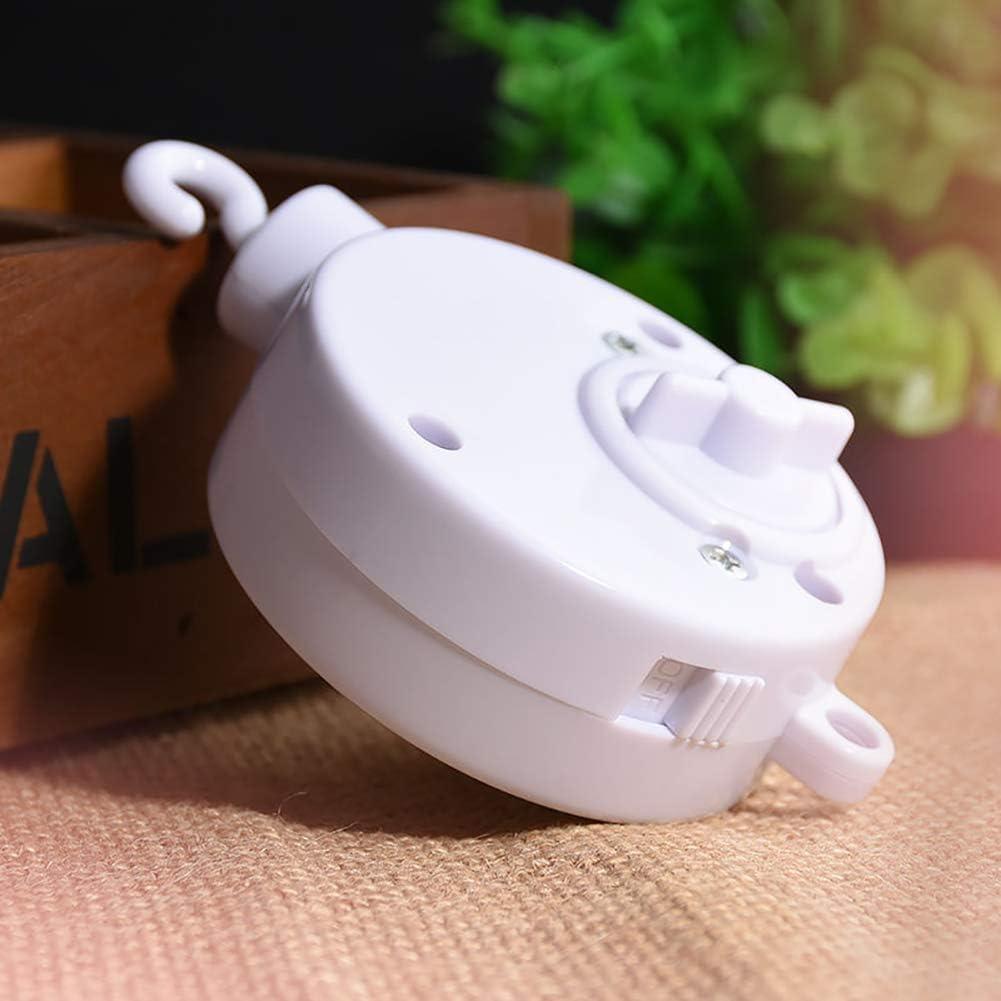 Glocke zum Aufziehen KaariFirefly drehbare Spieluhr f/ür Kinder zum Aufziehen Wei/ß