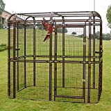 Bestmart INC EXTRA Large Iron Wire Walk-in Bird Aviary Cage Parrot Macaw Reptile Dog H80xW87xD61 Flight Cage