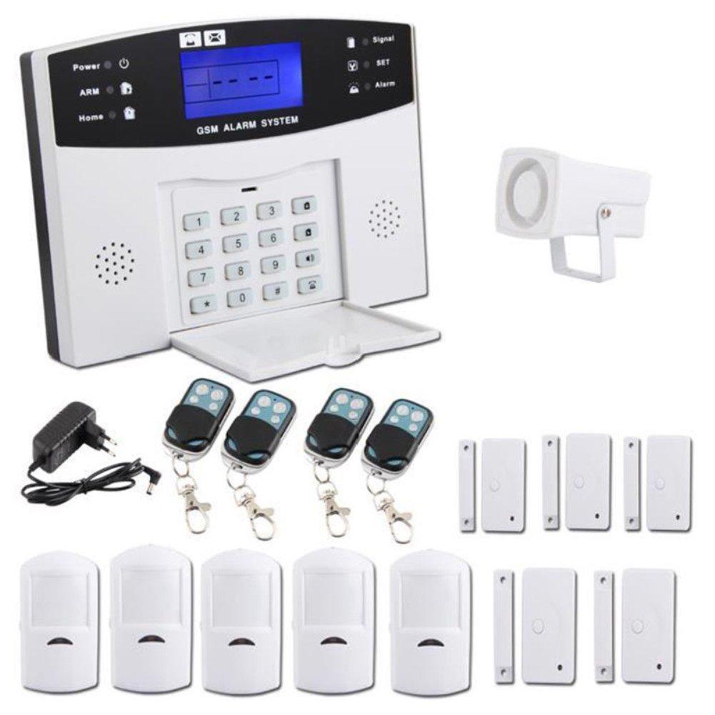 BQLOVE 1pcs Wireless Home Alarm Kit - Automatic Call Alarm ...