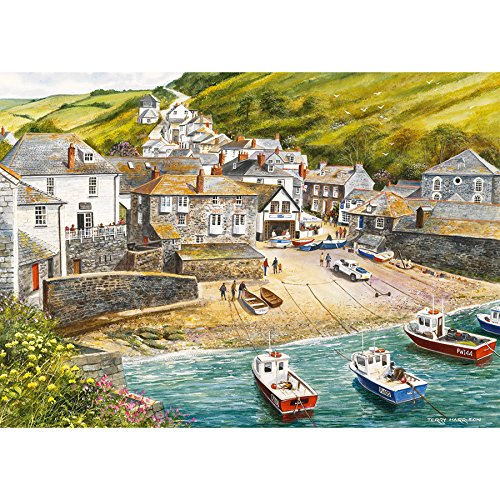 Gibsons Port Isaac Jigsaw Puzzle (500 pieces)