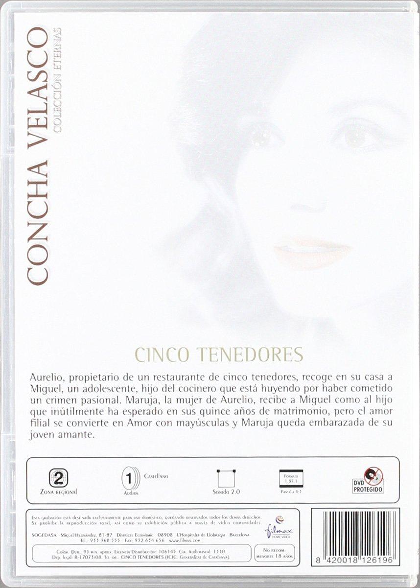 Concha Velasco - Colección Eternas [DVD]: Amazon.es: Concha Velasco, José Sazatornil, Rafael Alonso, Antonio Ozores, Fernanda Hurtado, Victoria Abril, ...