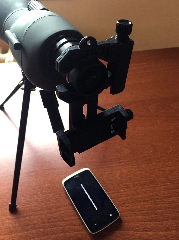 Levenhuk A10 Smartphone Adapter for Telescopes, Microscopes and Binoculars