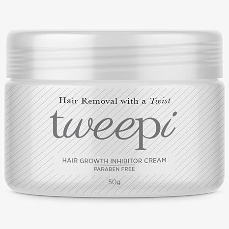 Tweepi Crecimiento De Pelo Inhibidor crema- Permanente Cuerpo y Rostro Depilación - Moderno Día Anti