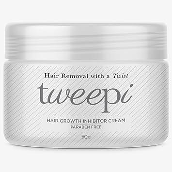 Tweepi Crema inhibidora para el crecimiento del cabello: Amazon.es: Salud y cuidado personal