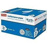 "Staples Multipurpose Inkjet & Laser Paper, 8.5 X 11"", 5000 Sheets/Case Carton"