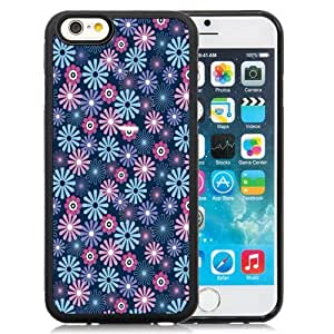 New Personalized Custom Designed For iPhone 6 4.7 Inch TPU Phone Case For Colorful Flowers Pattern Phone Case Cover