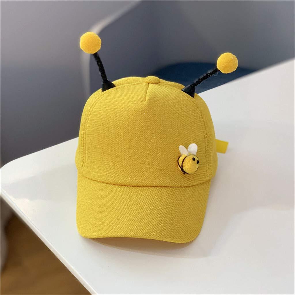Rcool Gorras de béisbol Viseras Gorro de pescador Pamelas Sombreros Panamá, Sombrero ajustable de verano para niños Béisbol Sun Pony: Amazon.es: Ropa y ...
