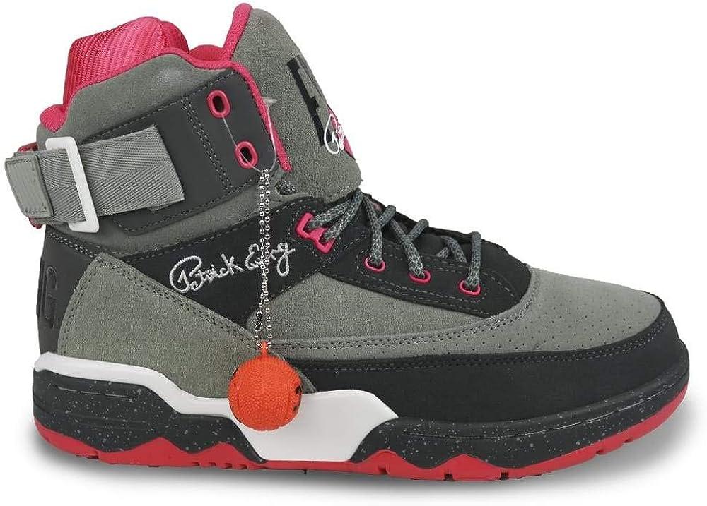 pink patrick ewing shoes