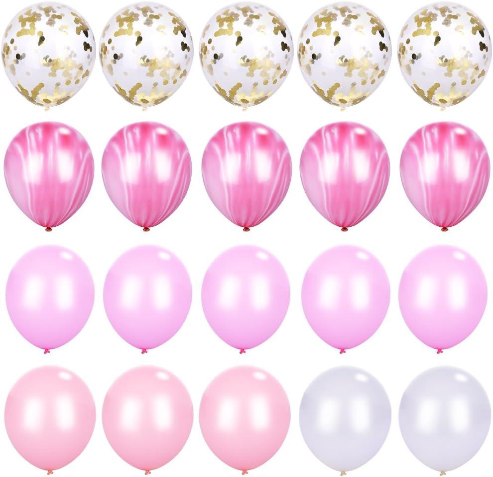 "number 1 stars /& swirls 12/""  Pastel Assortment Latex Balloons pack of 5"