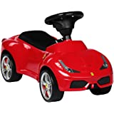 Charles Bentley Ferrari 458 Licenced Push Along Car Ride On Foot To Floor First Car Age 18-36 Months