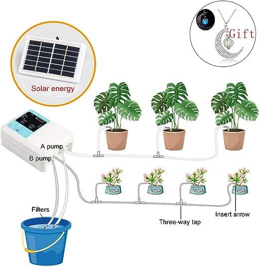 Yardeen Timer per irrigazione Automatico Micro Drip Irrigation Kit Verde