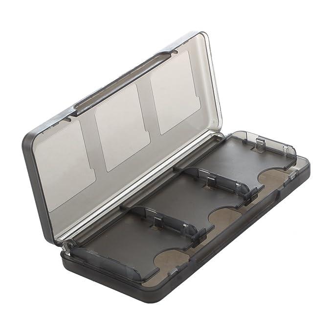 SODIAL(R) Cubierta cascara funda caja para Nintendo 3DS XL juego de tarjetas /SD/TF DS DS Lite, DSi, DSi LL / XL