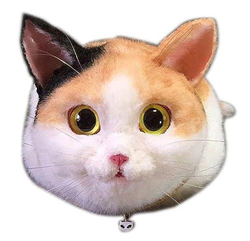 Amazon.com: 3d forma de gato de peluche bolsa de hombro ...