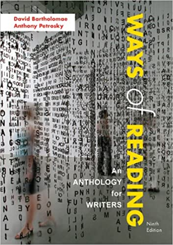Ways of reading an anthology for writers david bartholomae ways of reading an anthology for writers 9th edition fandeluxe Choice Image