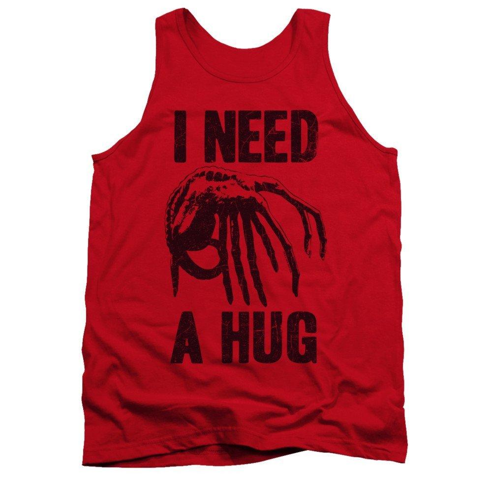 Alien Need A Hug Adult Tank Top