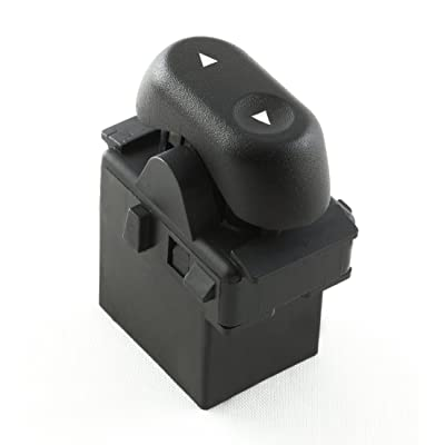 Eynpire 9604 Power Window Switch - 1-Button; Passenger Front or Rear Windows For Ford 2004-2008 F-150 F150; 2003-2008 Crown Victoria; 2003-2006 Expedition; 2006-2008 Lincoln Mark LT: Automotive
