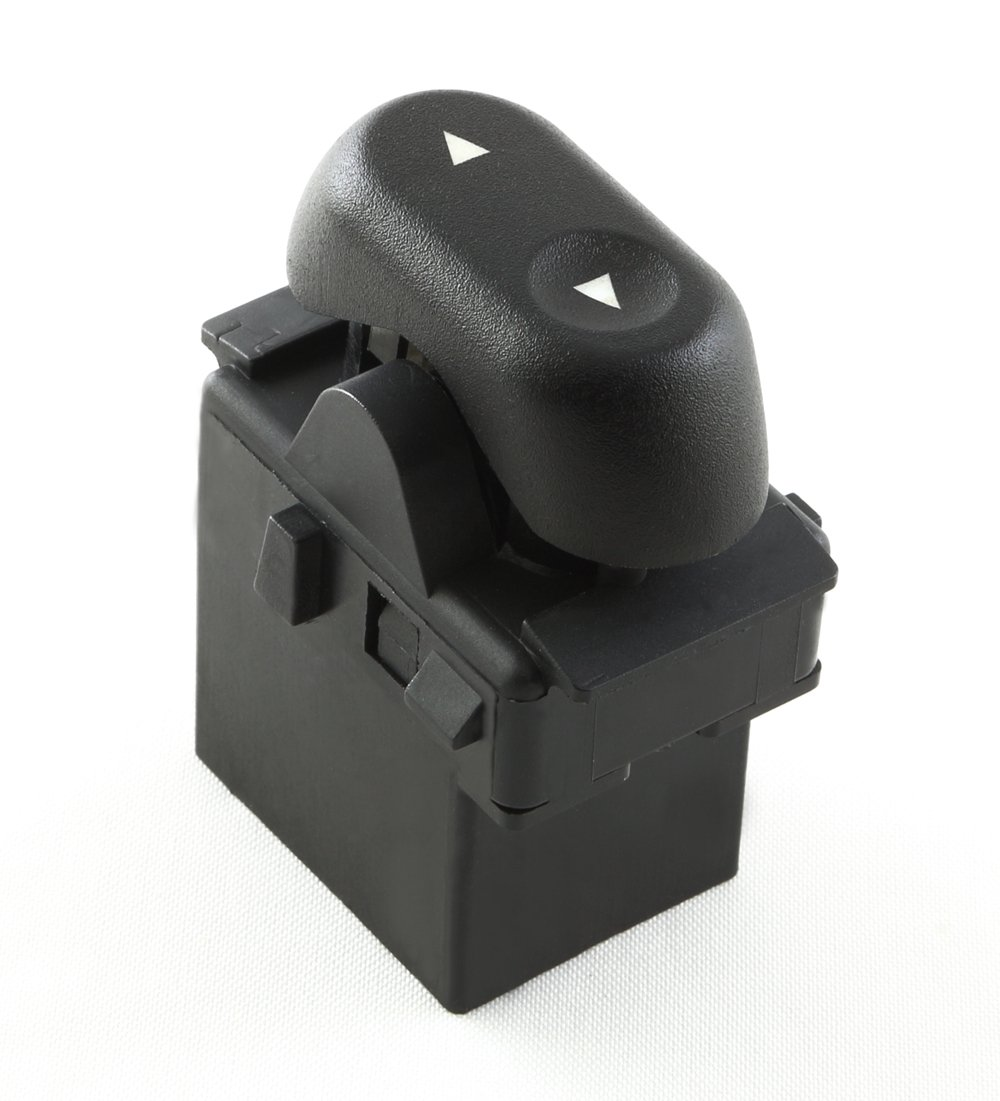 Eynpire 9604 Power Window Switch - 1-Button; Passenger Front or Rear Windows For Ford 2004-2008 F-150 F150; 2003-2008 Crown Victoria; 2003-2006 Expedition; 2006-2008 Lincoln Mark LT