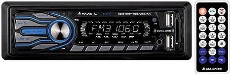 Majestic SD-247 RDS//USB//AX Autoradio con Ingresso USB e SD