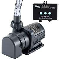 hygger 800GPH Quiet Submersible and External 24V Water Pump, with Controller (30%-100% Settings), Powerful Return Pump…