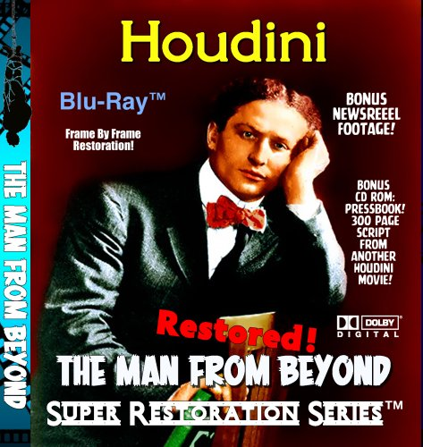 Houdini the Man From Beyond Restored! (Blu-ray) (From Beyond Blu Ray)