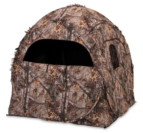 Ameristep Doghouse Spring Steel Blind, Realtree Extra