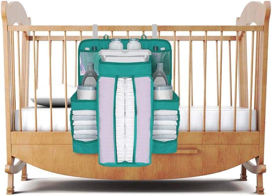 Chowaway Organizador de Carrito de pa/ñales para Colgar Junto a la Cama Apilador de pa/ñales de Gran Capacidad para beb/és peque/ños