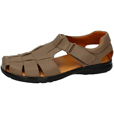 MADE IN SPAIN , Herren Sandalen , braun - braun - Größe: 41