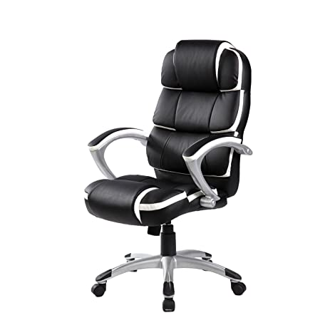Merax New Executive Office Chair Lumbor Support Boss Chair Computer Gaming  Chair (High Back 4