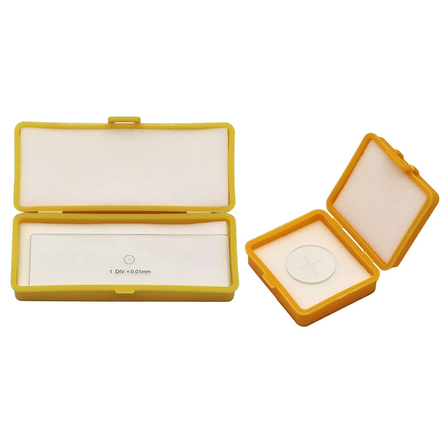 Microscope Accessories Business, Industry & Science 0.01mm Glass ...