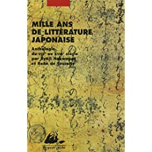 Mille ans de littérature japonaise [nouvelle édition]: Anthologie du VIIIe au XVIIIe siècle