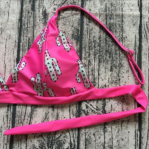 Cactus Pezzo Sexy Nuoto Costumi Due Kootk Impostato Donna Top E Costume Bagno Slip Tankini Suit S Swimsuit Bagnarsi Spiaggia Bikini Da RxwgzqBw