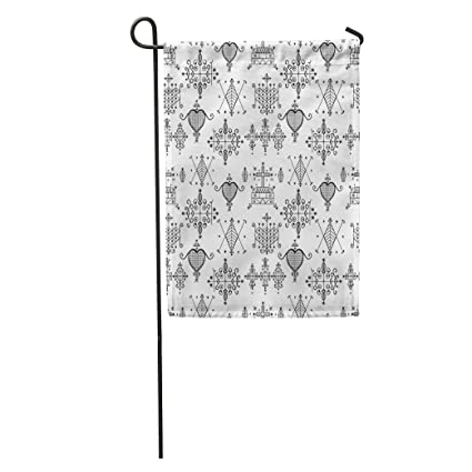 Amazon com : Semtomn Garden Flag Voodoo Spirits Symbols Seals of