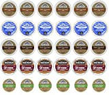 30-count Variety Hot Chocolate Cocoa Cup Sampler for Keurig K-cup Brewers - Swiss Miss, Grove Square and Martinson's