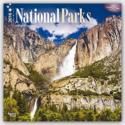 National Parks 2016 Square 12x12 Wall Calendar