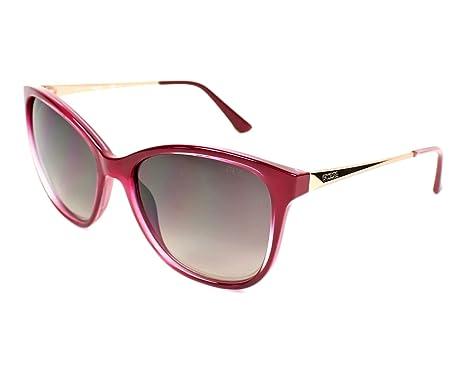 06d2927e73ae7f Guess GU 7502, Montures de Lunettes Femme, Rouge (Shiny Fuxia Gradient Brown