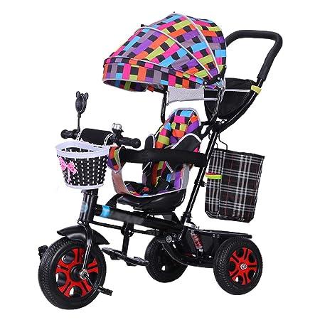 QDY-Strollers Cochecito para niños con Asiento Giratorio de 360° y ...