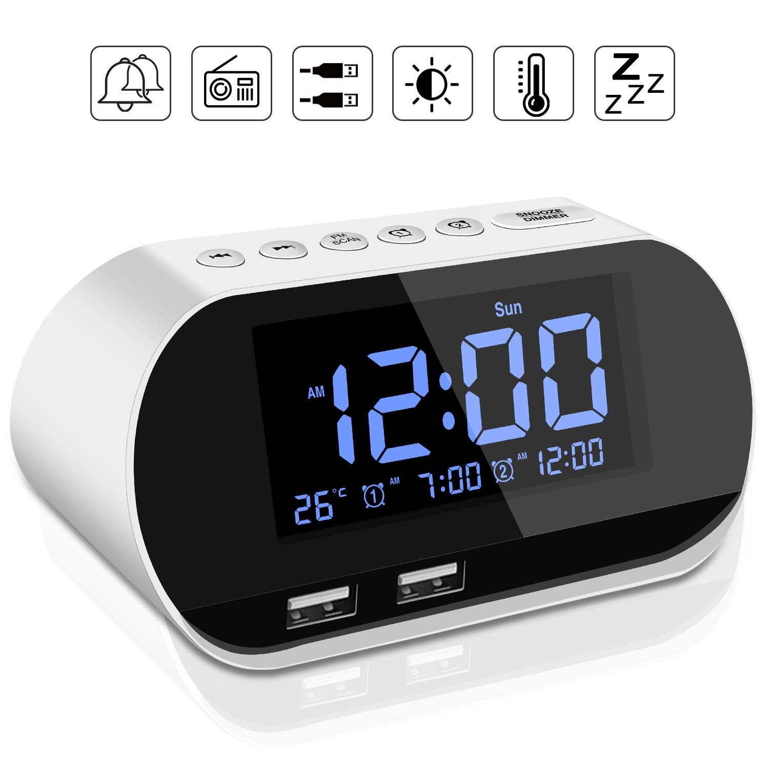 Top 9 Best Sounding Clock Radio On The Market - Buyer's Guide 38