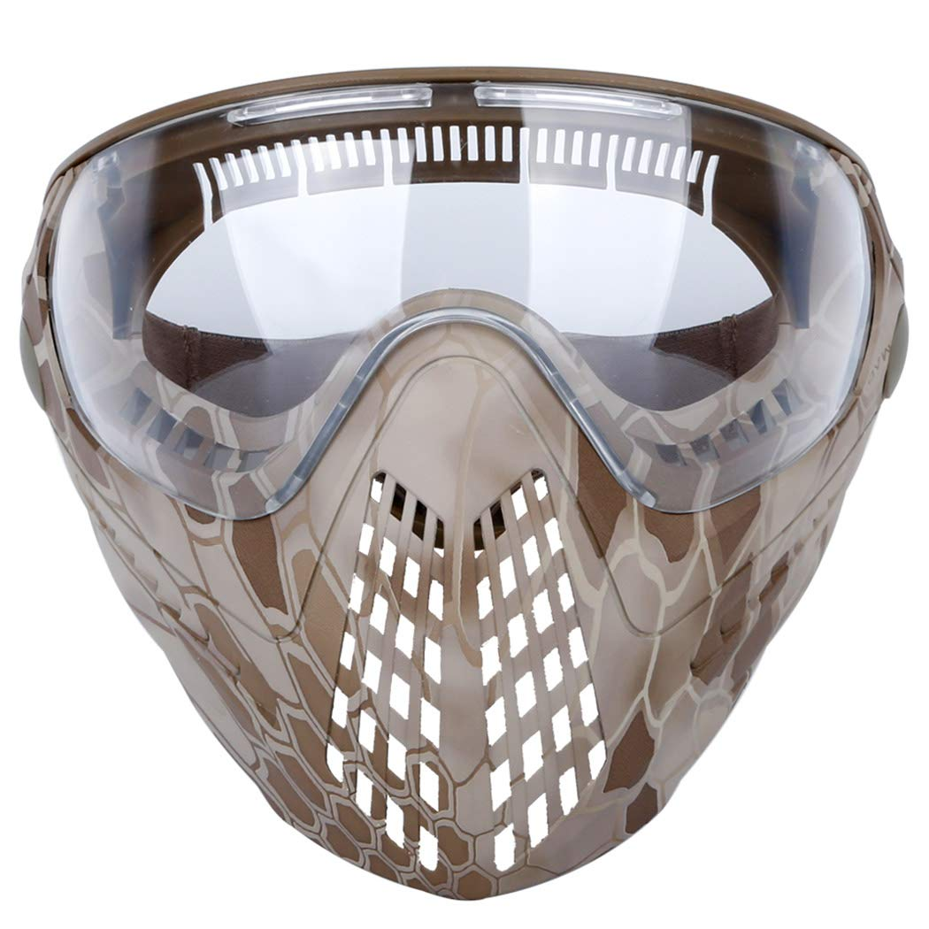 Fansport Outdoor Face Mask Set Protective Airsoft Mask Game Mask Cycling Mask for Sports for Protection by Fansport