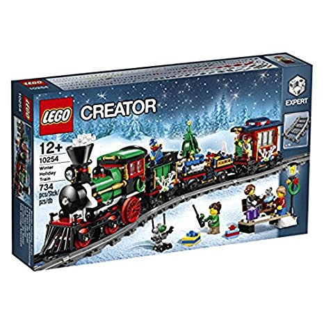 LEGO Creator Winter Holiday Train pieza s juego de construcción juegos de