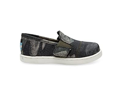 56073da3c4c Image Unavailable. Image not available for. Color  Toms Avalon Slip-Ons  Olive Nylon ...