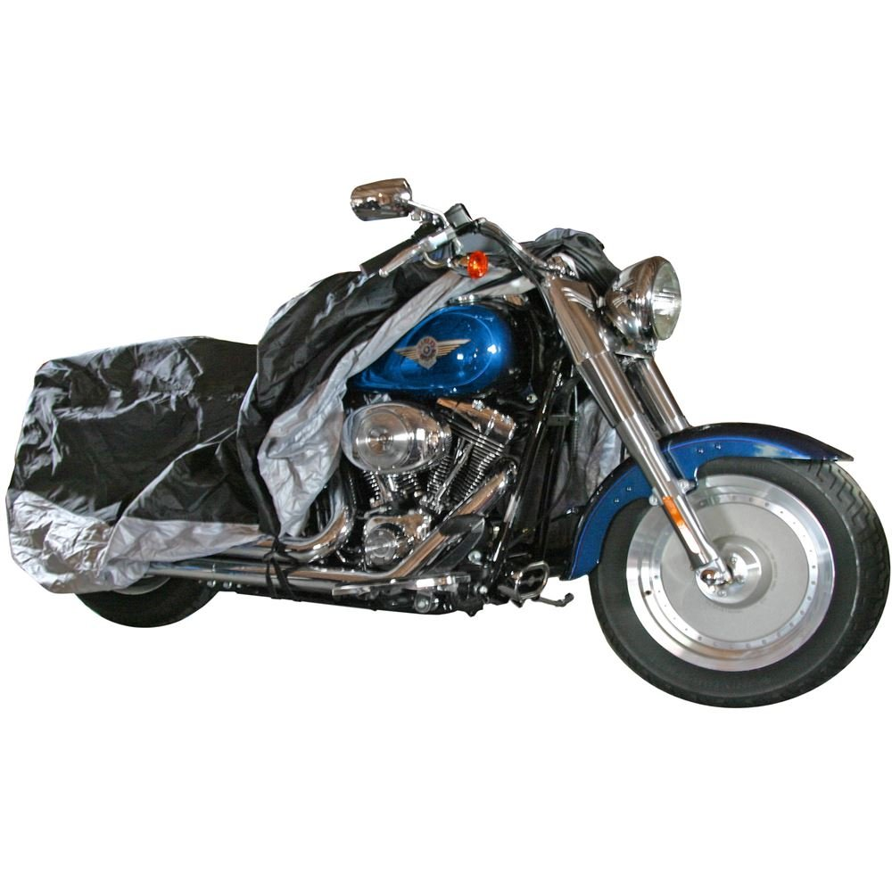 Black Widow Rage Powersports DMC-L Deluxe Motorcycle Cover