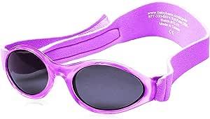 Baby Banz 3681 Kidz Banz %100 UV Güneş Gözlüğü, Mor