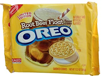 Root beer float oreos