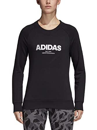 adidas Damen Essentials Allcap Langarm Sweatshirt