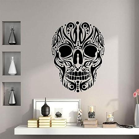 jiuyaomai Diseño Arte Cráneos Etiqueta de la Pared ...